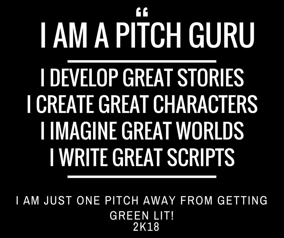 The Pitch 101 Content Creator's Manifesto 2k18
