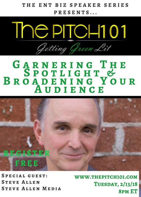 Garnering the Spotlight & Broadening Your Audience with Steve Allen Media!