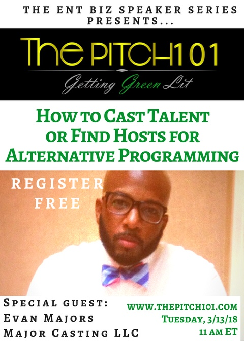 How to Cast Talent or Find Hosts for Alternative Programming - March