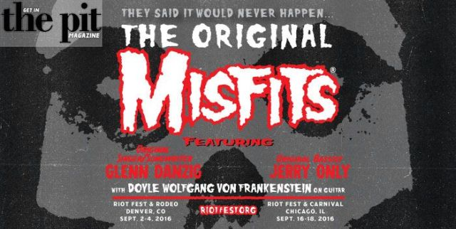 The Original Misfits Reuniting for Riot Fest in Chicago & Denver. – Riot Fest