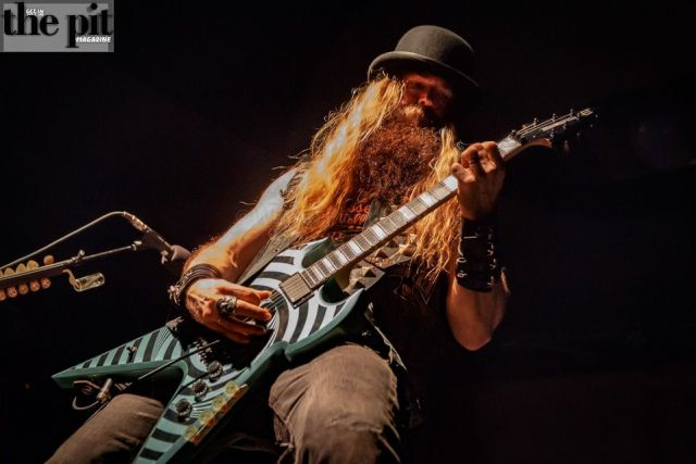 The Pit Magazine, Winsel Photography, Zakk Wylde, Book of Shadows 2 Tour, The Bourbon Theater, Lincoln, Nebraska