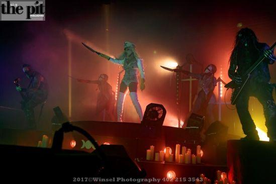 In This Moment – Half God/Half Devil Tour-Omaha-4.11.17