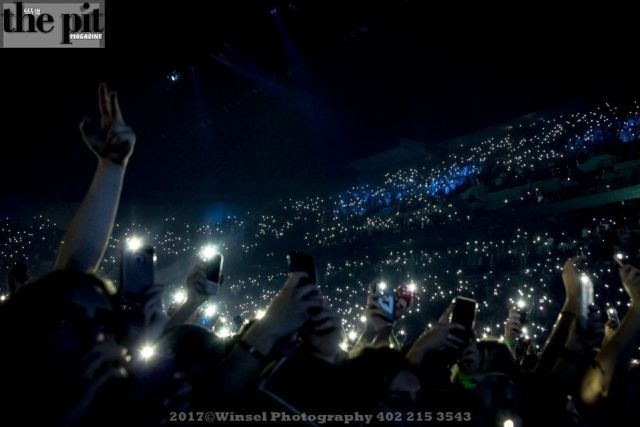 The Pit Magazine, Winsel Photography, Winsel Concertography, Chance the Rapper, Coloring Book, Be Encouraged Tour, CenturyLink Center, Omaha, Nebraska
