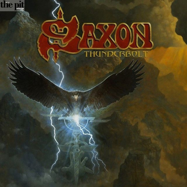 The Pit Magazine, Saxon, Thunderbolt, Record Review