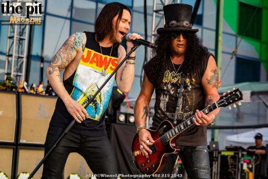 Slash w/Myles Kennedy & The Conspirators-Council Bluffs IA-8.9.19