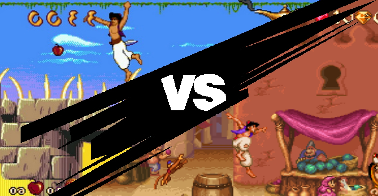 The Great Debate: SNES vs. Genesis Aladdin