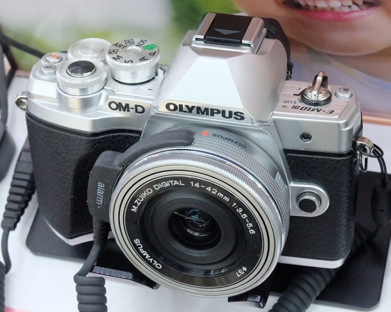 Best camera for beginners Olympus Mark III