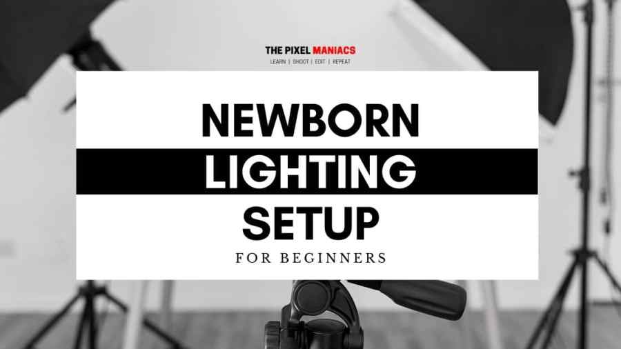 newborn Photography Lighting Setup