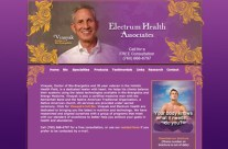 Electrum Health Associates Website Design
