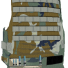 Illustration of a Military Vest with Proposed Radio & Radio Pack