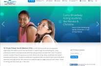 Website Design for a Non-Profit: T3TripleThreat