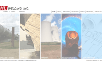 Website & Logo Design for HL Welding, Inc.