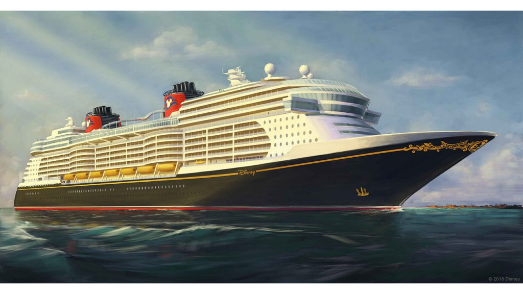 See Disney Cruise Line's Newest Ship Rendering