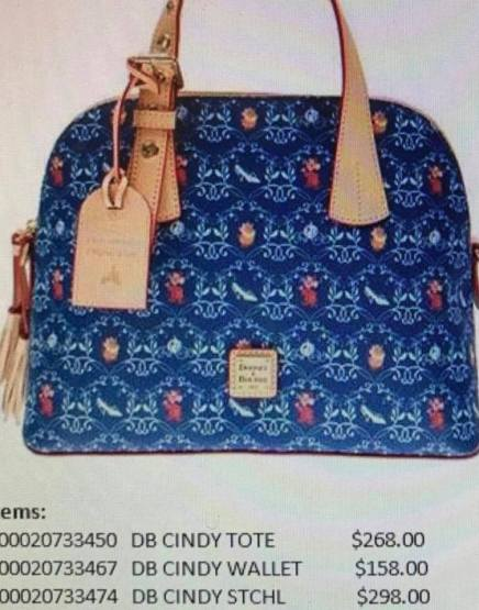 Cinderella Dooney and Bourke Satchel