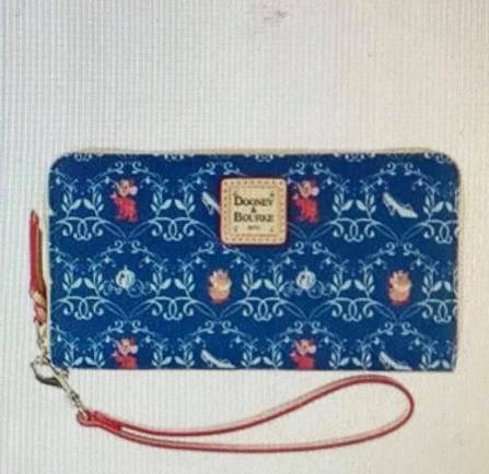 Cinderella Dooney and Bourke Full Zip Wallet