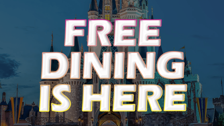 Free Dining and 2 other Promos are Back for Select Fall 2019 Dates