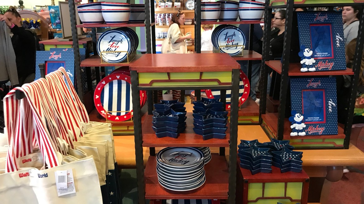 Photos: Laugh, Love, Mickey Merchandise Hits the Shelves at Disney World