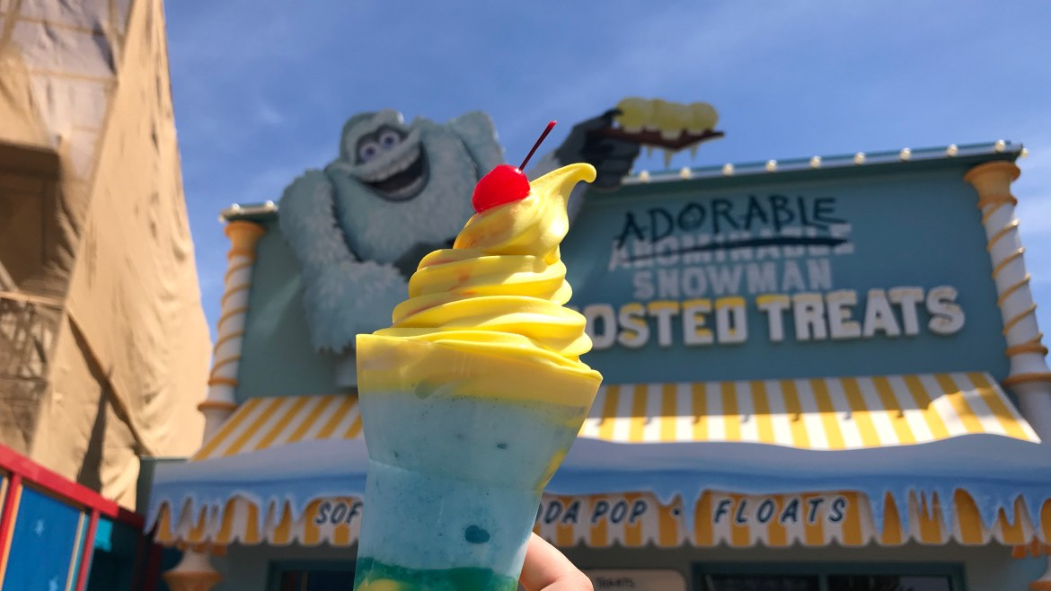 Review: Adorable Snoman Frosted Treats on Pixar Pier