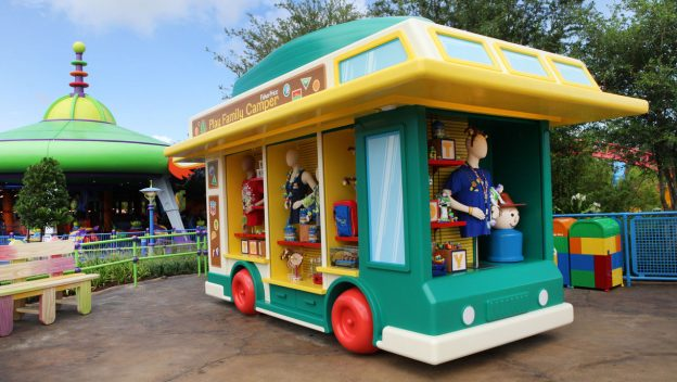 First look at Shopping in Toy Story Land