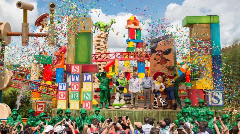 Toy Story Land Opens Today