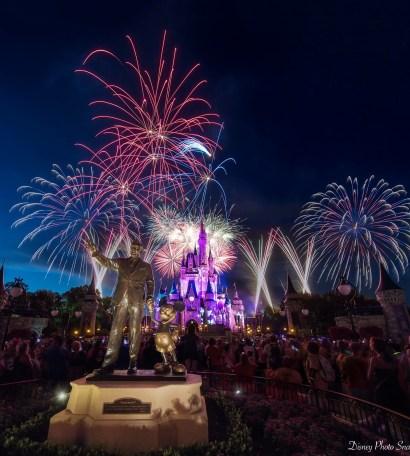 Walt Disney World Fireworks at Magic Kingdom