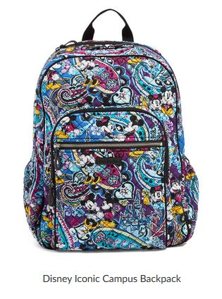 Vera Bradley Iconic Collection Backpack