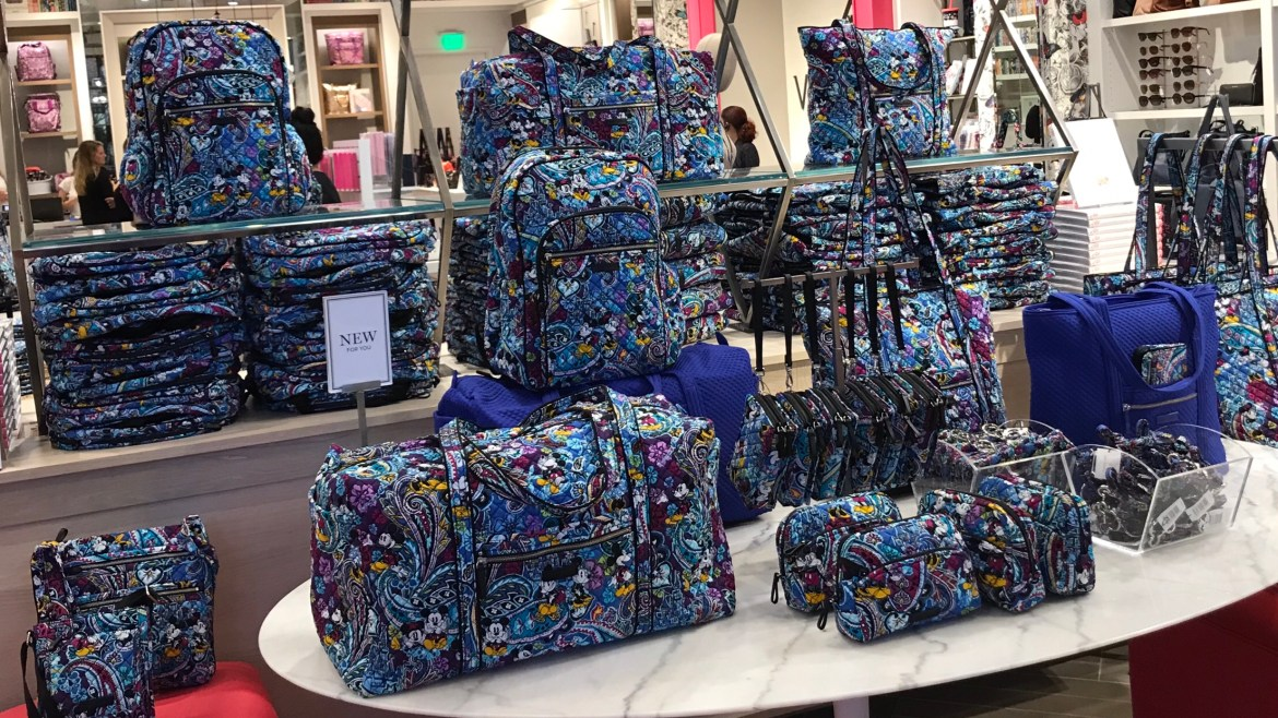 New Disney Vera Bradley Iconic Collaboration Now Available