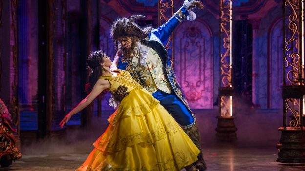 Beauty and the Beast Production on the Disney Dream