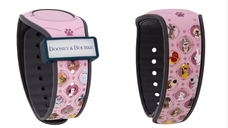 Disney Dogs Dooney and Bourke Magic Band Releases Early
