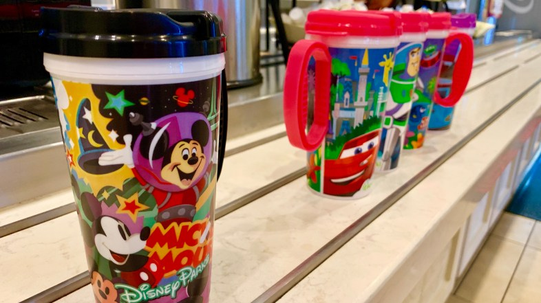 New Refillable Drink Mugs Arrive at Most Resorts