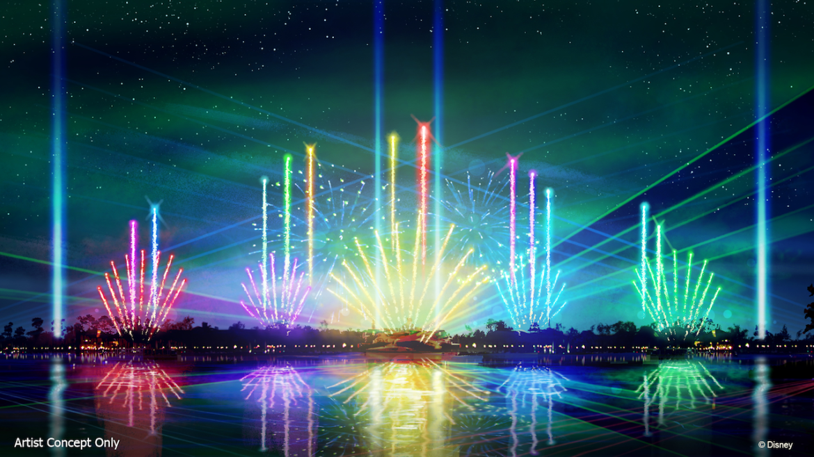 """New Nighttime Spectacular """"Epcot Forever"""" Debut Date Released"""