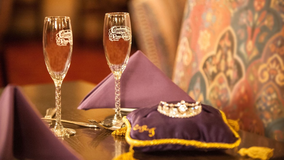New Signature Celebration Package at Cinderella's Royal Table