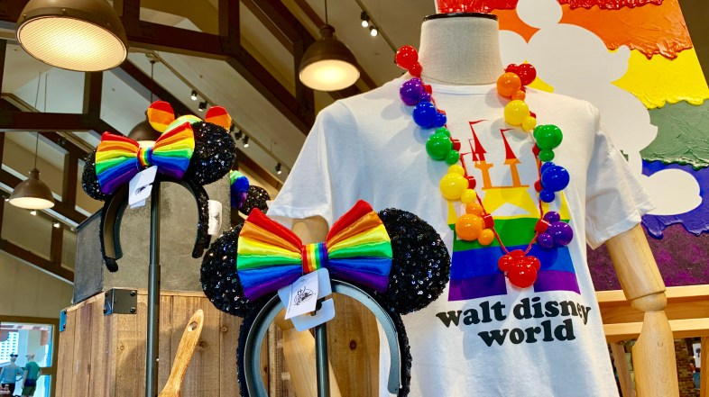 Disney Pride Merchandise is Bringing a Perfect Color Pop into Walt Disney World Stores