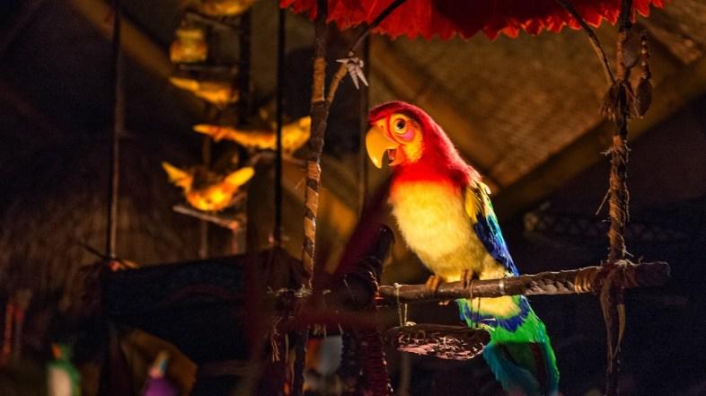 Tiki Room at Magic Kingdom Stays Put