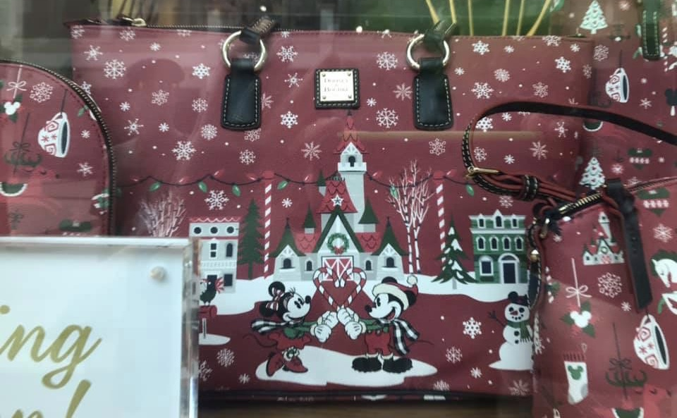 Disney Winter Holiday Dooney and Bourke Releases Friday