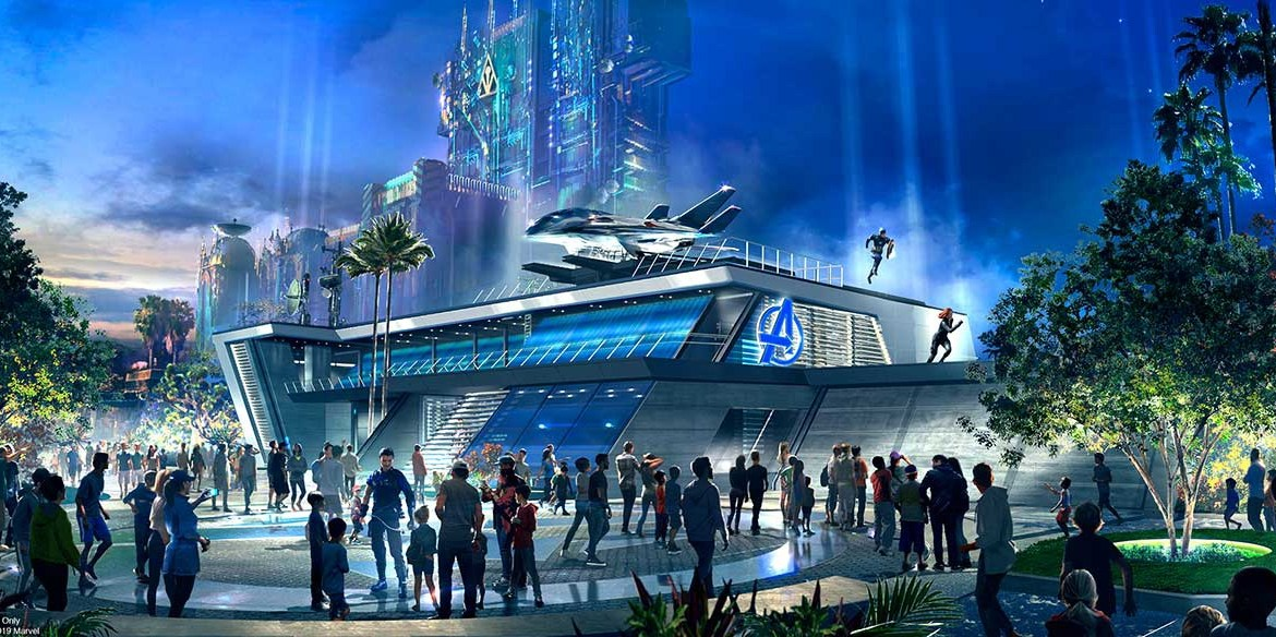 Avengers Campus at Disney California Adventure Park to Begin Recruiting Super Heroes in Summer 2020