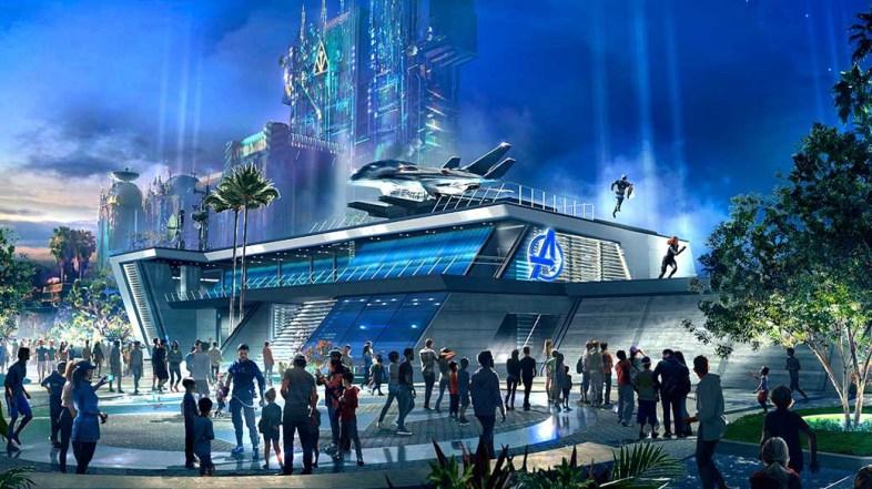 Avengers Campus at Disney California Adventure Park to Begin Recruiting Super Heroes in Summer 2020