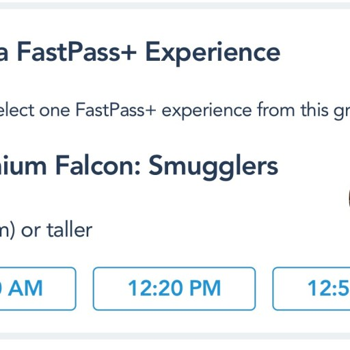 Millennium Falcon: Smugglers Run FastPasses Open and Hollywood Studios Updates Tiered FP System