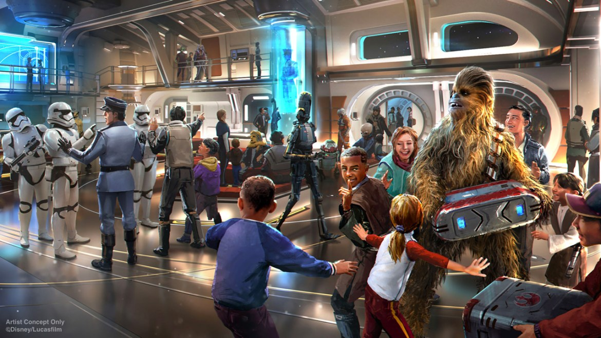Reservations for Star Wars: Galactic Starcruiser – the New Multi-Day Vacation Experience Coming to Walt Disney World Resort – Will Open in 2020