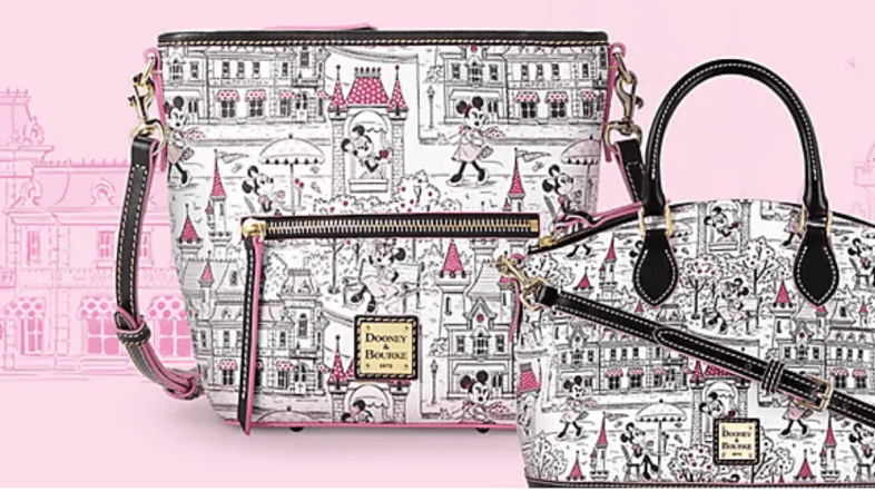 Disney Parks Minnie Mouse Dooney & Bourke Release