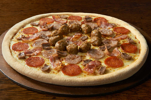 The Meateor Pizza from Domino's