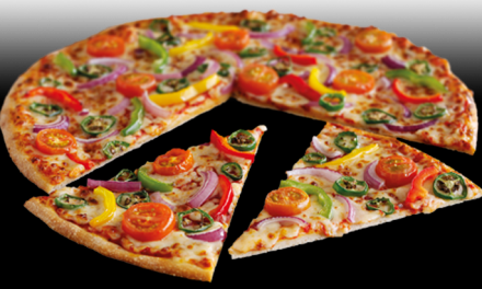 Veggie Hot One Pizza from Pizza Hut