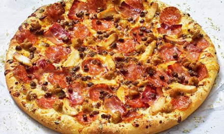 The Meaty One from Pizza Hut