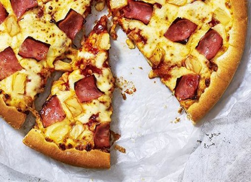 Hawaiian Pizza from Pizza Hut Hawaiian Pizza Review