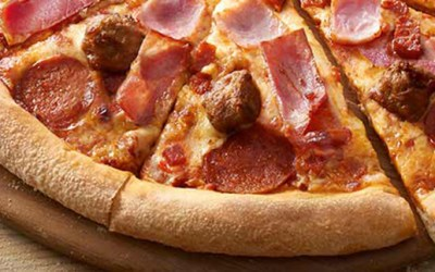 The Meatfielder Pizza from Domino's