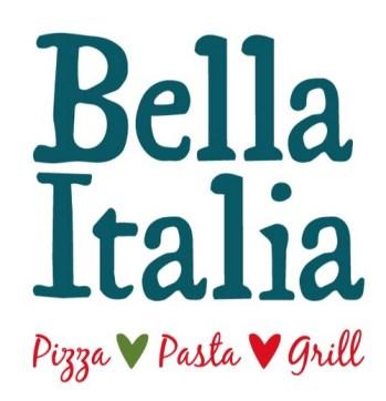 Bella Italia Menu Prices, Latest prices of Bella Italia Pizza's