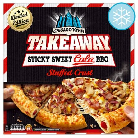 Chicago Town Takeaway Sweet Cola Bbq Pizza Review From Tesco