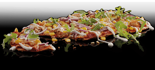 Tuna & Sweetcorn Flat Bread Pizza Review from Pizza Hut