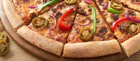 Tabasco Pizza Review, Tabasco Pizza from Domino's