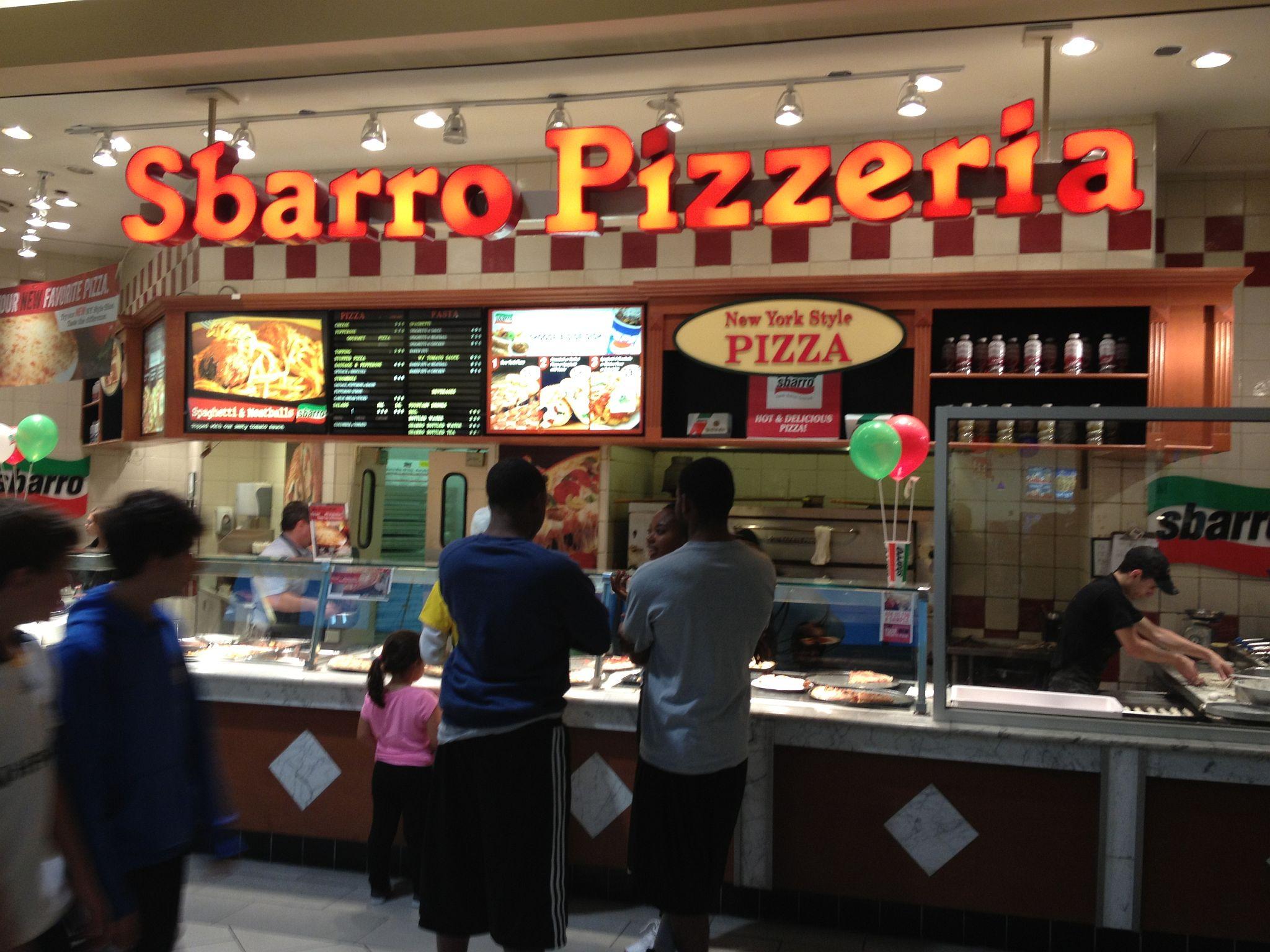 Sbarro Mall Resize The Pizza Snob